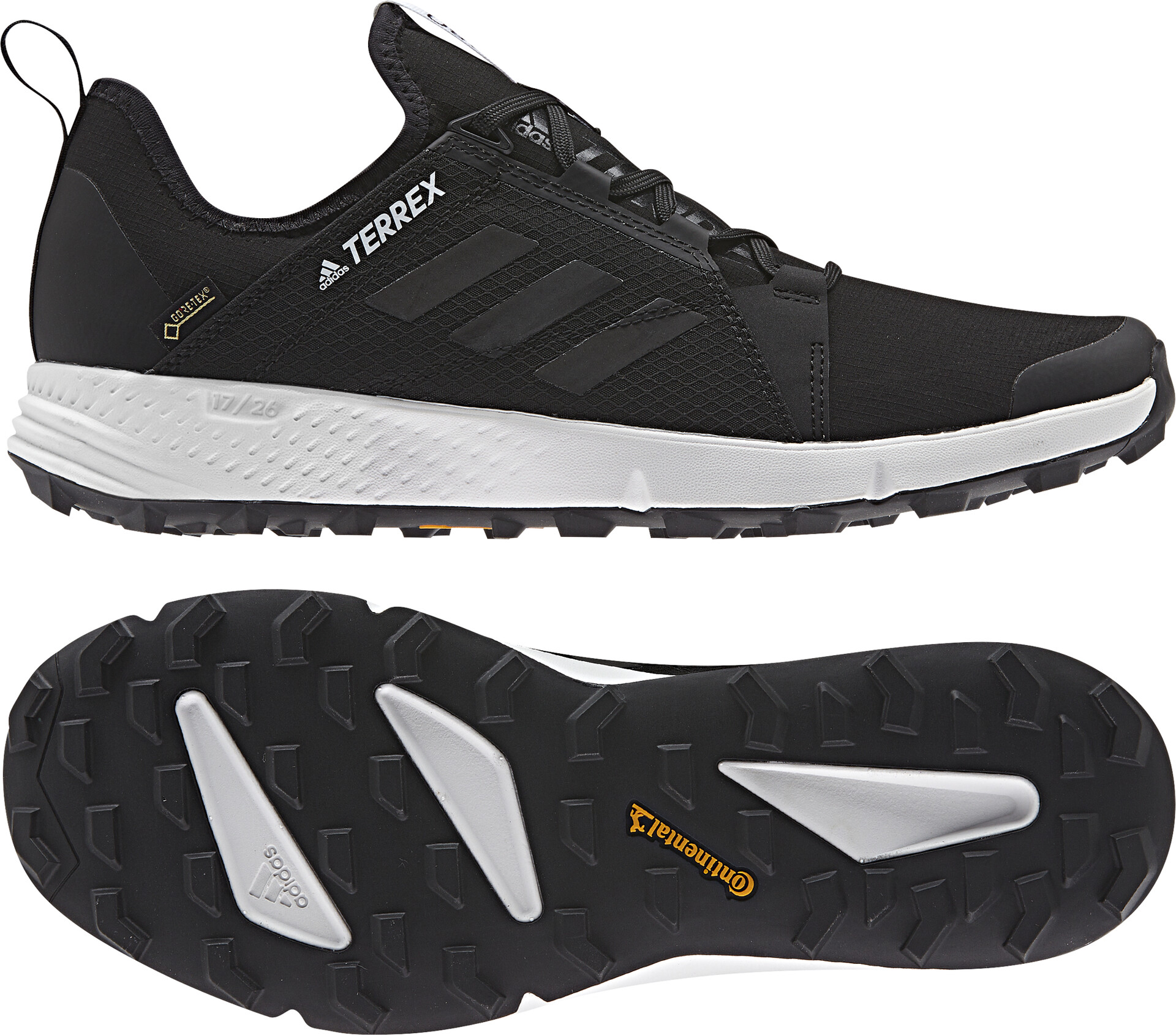Noir Agravic Chaussures Homme Adidas Terrex Speed Gtx Running PTwOikXZul